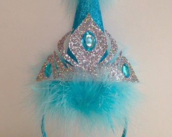 Frozen Elsa Party Hat, Birthday hat
