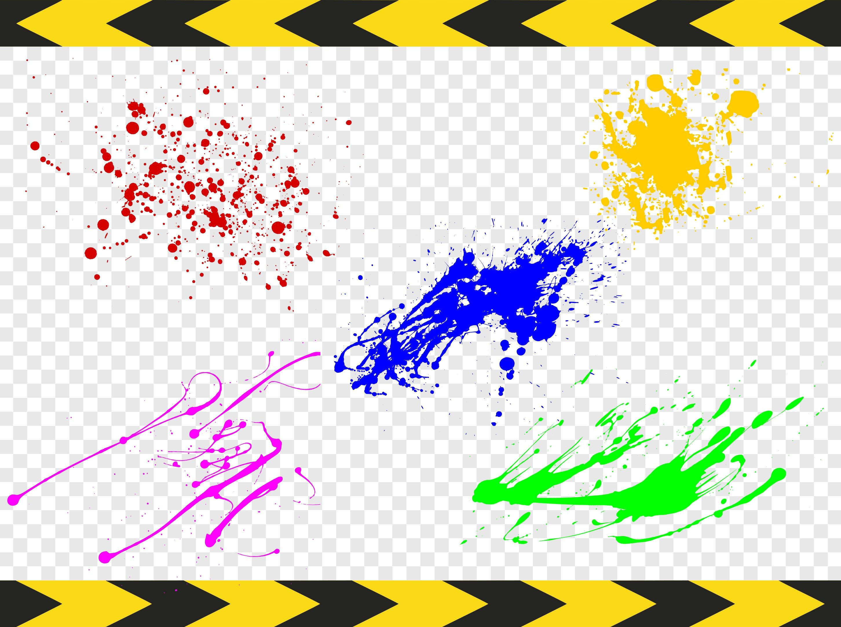 Pintura salpicadura paquete splash cortar archivos svg para cricut silueta im genes predise adas - Salpicaduras de pintura ...