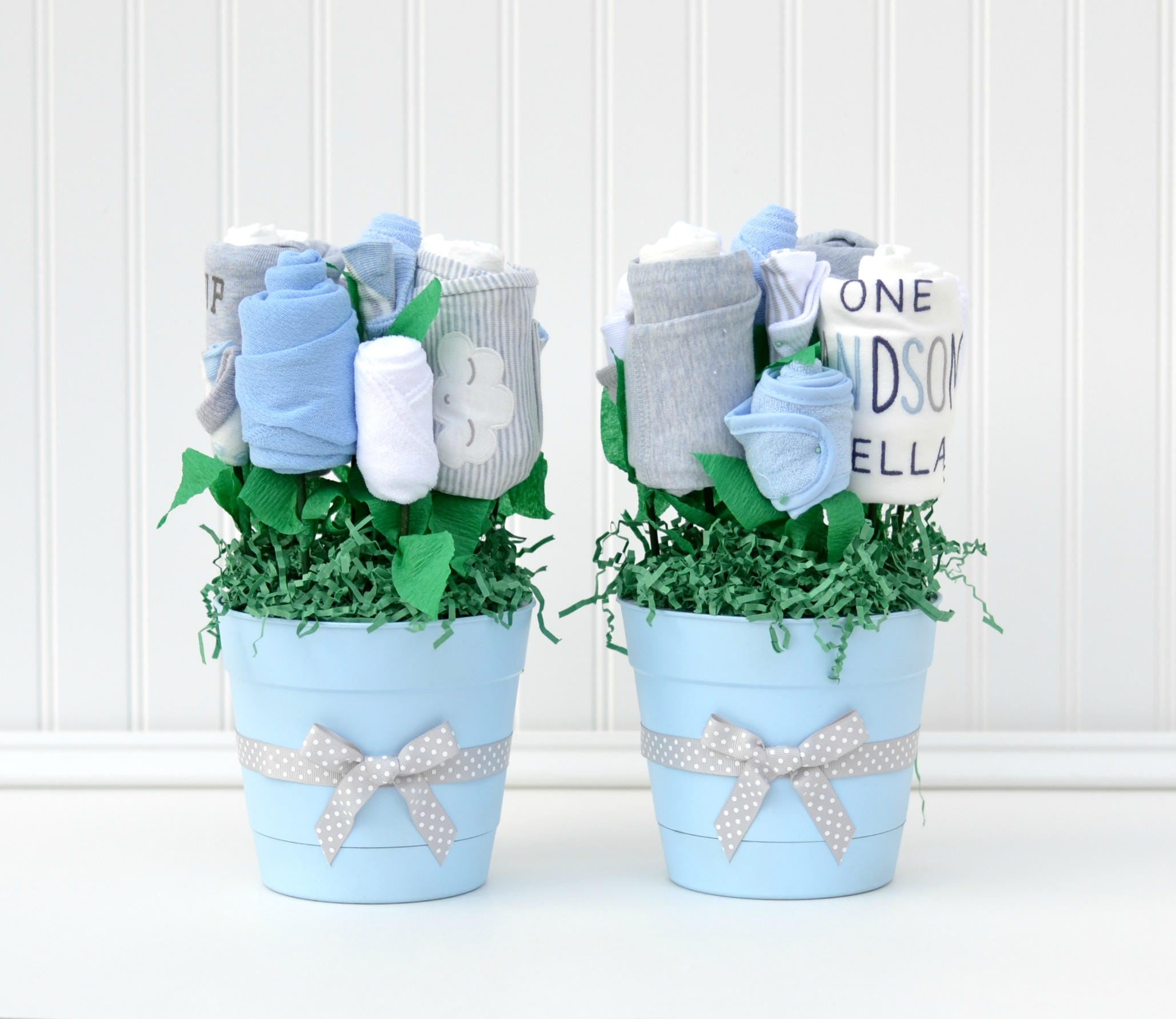 Baby Shower Decor, Baby Shower Table Centerpieces, Unique Boy Baby Shower, Baby  Table
