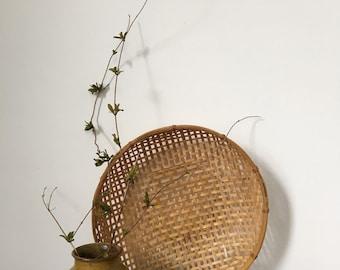 vintage winnowing basket
