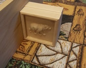 Wood Trim Bears, Custom W...