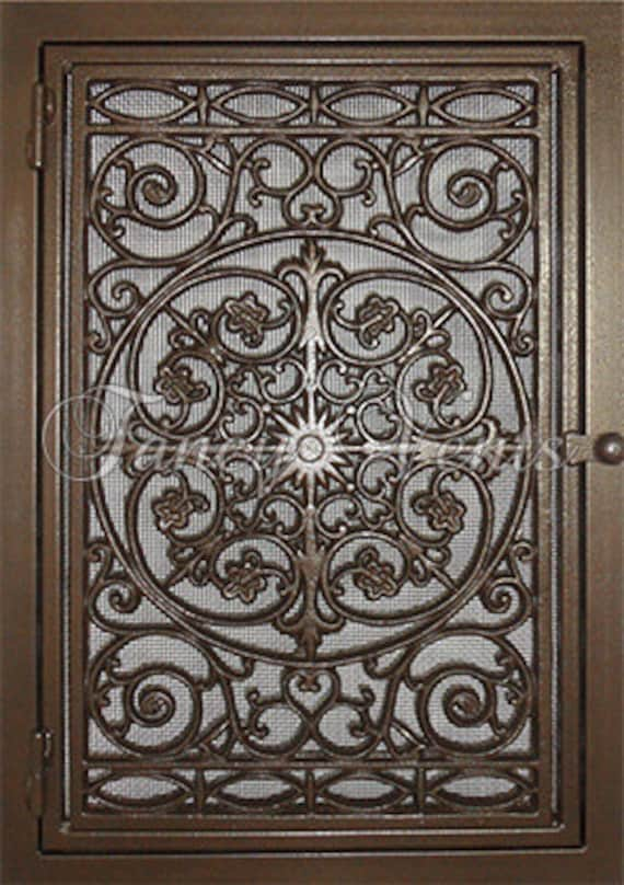 Decorative Cast Iron Vent Cover 20 X 30 Traditional