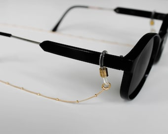 Gold Fill Bead (Spaced) Chain Sunglass and eyewear lanyards and cord accessories