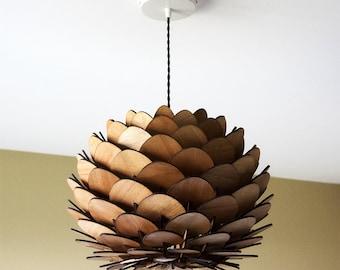 lamp shade design / design lampshade / lamp design / Lampshade design / wooden suspension / light design wood wood