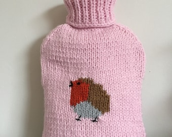 Robin Hot Water Bottle Cover