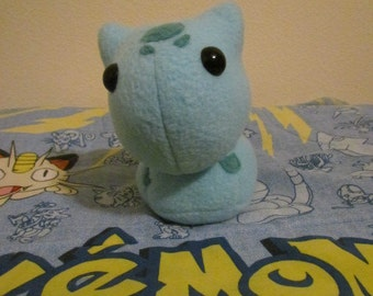 Chibi Bulbasaur Plush - MADE TO ORDER