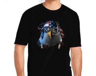 Patriotic Eagle T-Shirt, Bald Eagle T-Shirt, Bald Eagle Shirt, Patriotic T-Shirt, Patriotic Shirt, American Flag, Bald Eagle, Eagle, USA