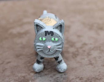 Cork Kitty (Upcycled Wine Cork with 3D Printing)