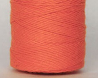 10 yards/ 9.144 m Solid Orange Bakers Divine Twine