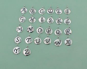 Charm - Letters Numbers