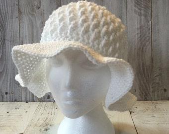 Crochet sun hat, crochet beach hat, women's beach hat, women's crochet beach hat, cotton hat, cotton summer beach hat, cotton summer hat