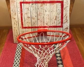Rustic Basketball Hoop