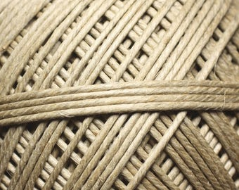 5 Metters - wire cord 2mm Ecru 4558550007643 hemp twine