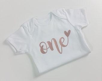 First Birthday Vest, Cake Smash, Baby Vest, Birthday, I am One