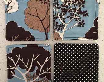 Drink Coasters - Set of 4 - Modern Trees