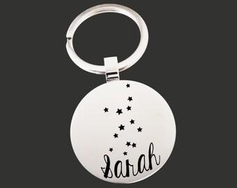 Zodiac Gift | Zodiac Keychain | Zodiac Key chain | Zodiac Sign | Personalized Gifts | Korena Loves