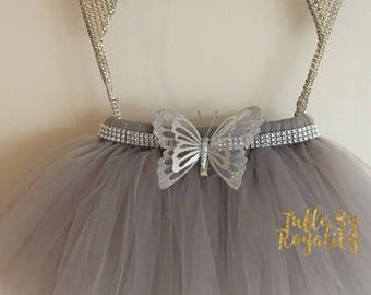 Butterfly Bling Tutu (CUSTOMIZE YOUR COLOR!!)