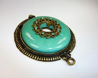 Big Turquoise Pendant