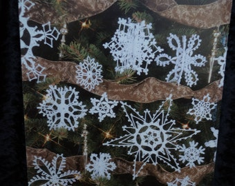 99-SNOWFLAKES-to-Crochet-Pattern-Book-Leisure-Arts-3013  3D Snowflakes- Decorations- Christmas-Ornaments-Patterns-Gifts