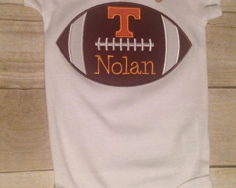 Tennessee baby etsy tennessee football power t baby bodysuit romper personalized tennessee vol baby negle Image collections