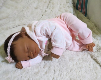 "Reborn Baby, ""Ophelie"", Reborn Baby Girl, Aisha Kit, Reborn Doll, Ready to Ship"