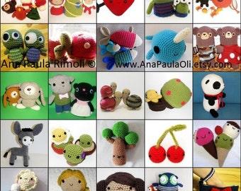 Seriously Cute Crochet 3 ebook - more than 25 amigurumi patterns - crochet patterns DEAL