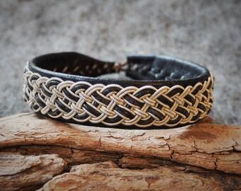 Tenntrådsarmband, Pewter bracelet, Sami bracelet, Scandinavian jewelry