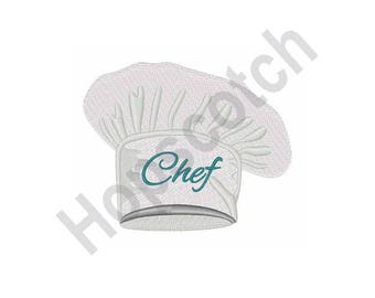 Chef Hat - Machine Embroidery Design