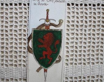 Bookmark - Original Hand Illustrated Art Gift