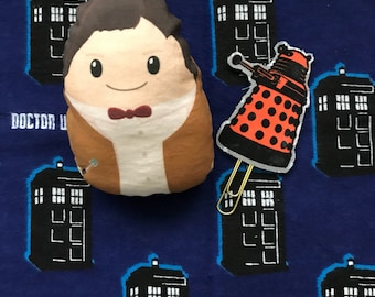 Doctor Who Inspired 11th Doctor Stuffed Doll