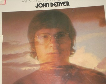 John Denver record album, Whose Garden Was This, vintage vinyl record