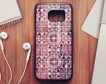 Wood Portuguese Tile Case For Samsung Galaxy S8, Tile Case For Samsung Galaxy S7, Tile Case For Samsung Galaxy S6, Tile Case