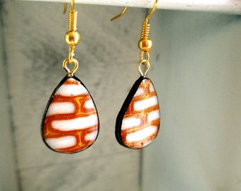 These superearrings complete your outfit! Handmade.