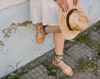 Leather Gladiator Sandals, Tan Sandals, Sandals Gladiator, Leather Sandals Gladiator, Tan Gladiators, Lace Up Sandals, Summer Sandals