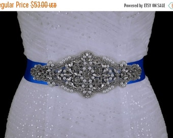 Beaded Belt Sash Bridal Bride Accessory Accessories Wedding Weddings Jewelry Bridesmaid Sashes Apple Red Gold Black Pink Silver Blue Sash