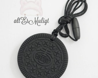 Cookie Biscuit Foodgrade Silicone Teether