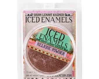 Iced Enamels relique powder, Glitz Copper, .25oz