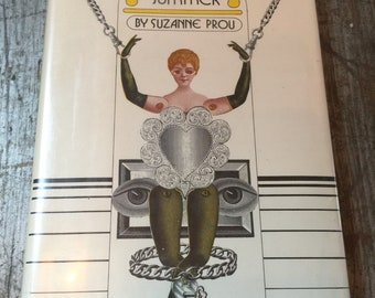 Rare 1972 First Edition The Yellow Summer by Suzanne Prou