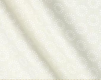 More In Stock - Moda - First Crush Fabric - 5606 11 -Sweetwater Seasonal Valentines Circle Of Love Natural