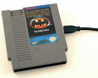 NES Hard Drive - Batman  USB 3.0
