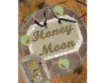 Honey Moon Note CARD 12 FAIRY Moons July
