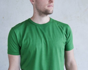 Bamboo T Shirt - Super Soft - Green