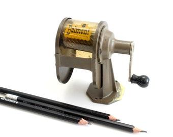 Vintage Metal Tabletop Pencil Sharpener