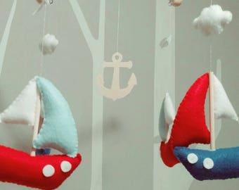 Nautical theme mobile