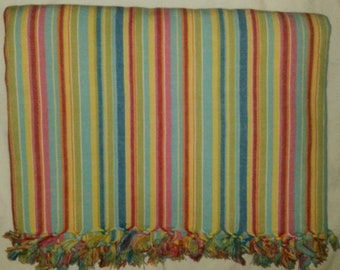 Bright Striped Fabric