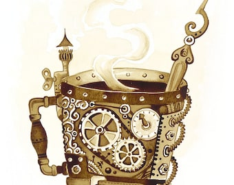 Steampunk Coffee Mug