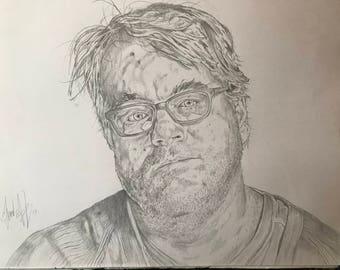 Phillip Seymour Hoffman portrait