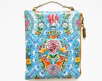 Womens gift ideas, Waterproof Hanging Cosmetic Bag, birds and flowers.