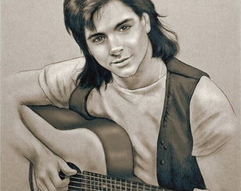 1 DOLLAR SHIPPING: Uncle Jesse, 11x14 Print