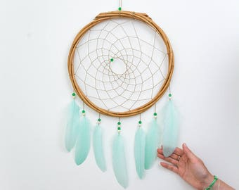 Wall Hanging Dream Catcher - Boho Dream Catcher Wall Hanging with 20 colour choices!